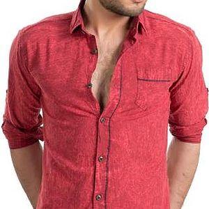 Ron Tomson Pánská košile 2819 RED