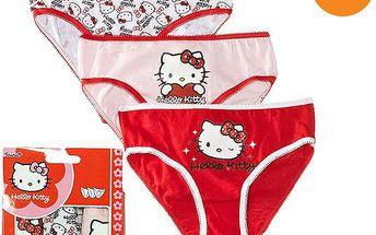 Sada dívčích kalhotek Hello Kitty, 3ks