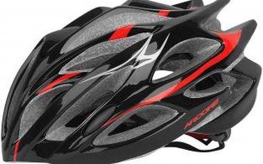 Cyklistická přilba Arcore BLAST černá/červená M/L