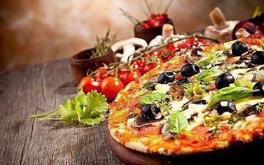 2x pizza dle vašeho výběru v Cappuccini restaurant!