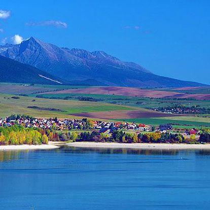 Levná dovolená v Tatrách s polopenzí pro dva