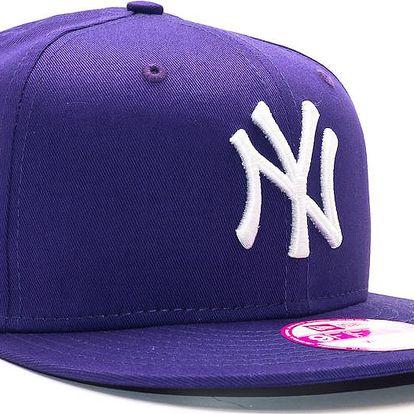 Dámská Kšiltovka New Era Fashion Essential New York Yankees Purple/White Snapback