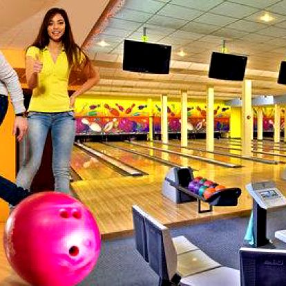 Pronájem bowlingové dráhy na 60 min
