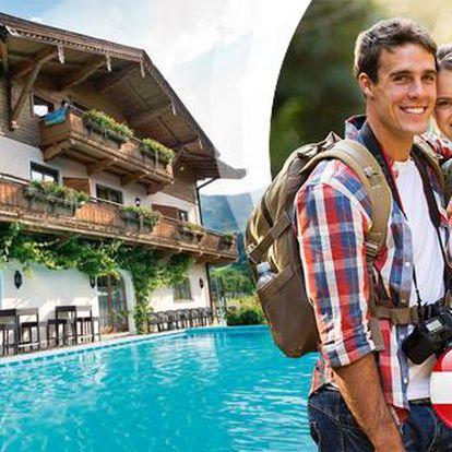 Kitzbühelské Alpy pro DVA na 4 dny s polopenzí + 2 děti do 13 let ZDARMA