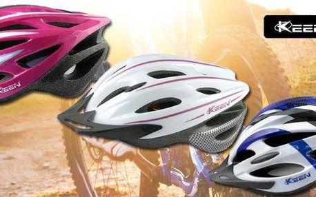 Cyklistické helmy Keen pro dospělé i děti