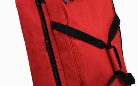 Member's Cestovní taška na kolečkách TT-0032, červená
