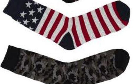 Pánské ponožky(4-pack) Solid