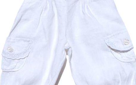 Dětské tepláky - bílé