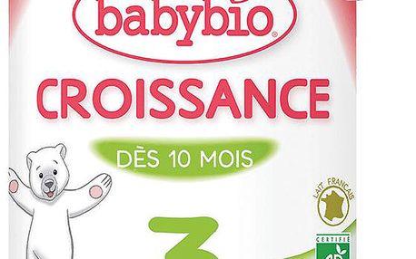 BABYBIO Croissance 3 růstové mléko v prášku 900g