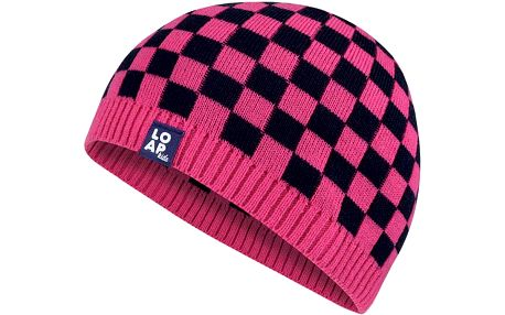 Pletená růžová čepice Martin se slevou 50 %
