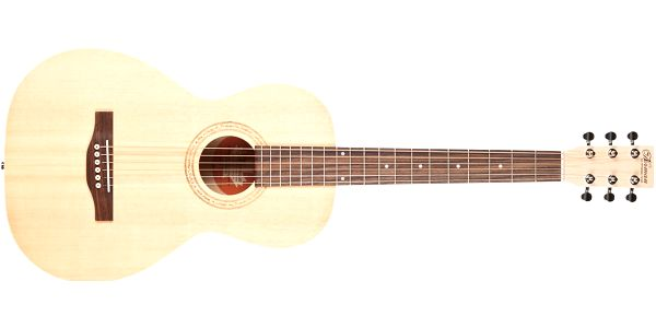Akustická kytara Norman Expedition Natural Solid Spruce Parlor SG