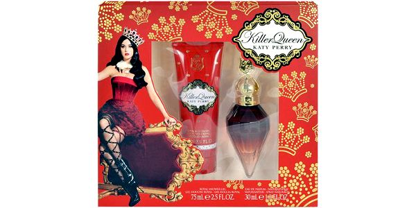 Katy Perry Killer Queen EDP dárková sada W - Edp 30ml + 75ml sprchový gel