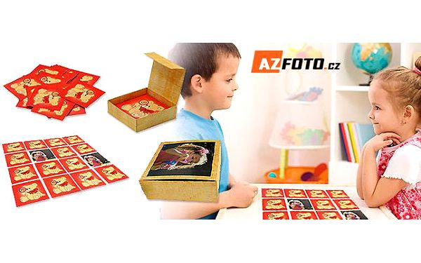 Originální pexeso s vlastními fotkami a krabičkou