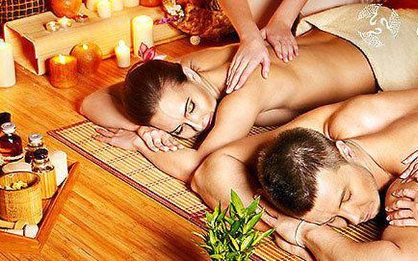 Úžasná partnerská aroma olejová masáž v…