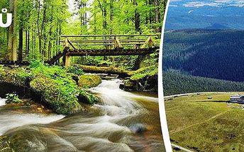 3-6 dní v pohádkové přírodě letních Jeseníků