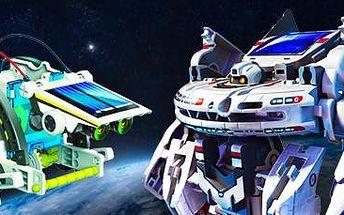 Solární stavebnice: až 14 robotů v jedné krabici!