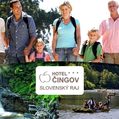 Wellness léto ve Slovenském ráji v hotelu Čingov***