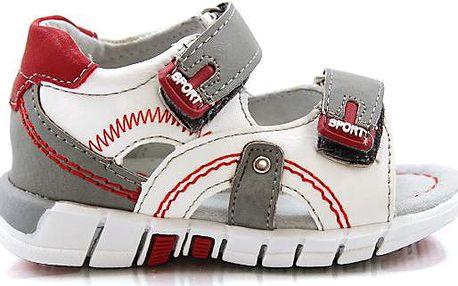 Dětské vysoké sandálky M15WH/GR