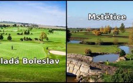 First moment green fee na oblíbená hřiště kolem Prahy. Zahrajte si v ZÁŘÍ a ŘÍJNU Mladou Boleslav a Mstětici se slevou 41% - ušetříte až 1150 Kč.