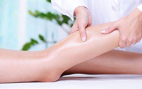3x 30minutová chladivá mátová masáž nohou a lýtek v pražském salonu Libeň