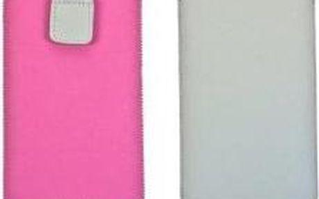 Aligator Fresh Duo pouzdro velikost Samsung i9300 Galaxy S3 růžové/šedé (137x75x10mm)