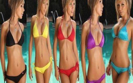 Dvoudílné dámské plavky s leskem: WOW EFEKT zaručen!