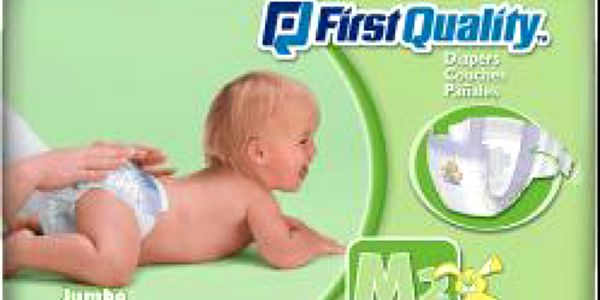 CUTTIES First Quality Dětské pleny 5-8 kg, (42 ks)