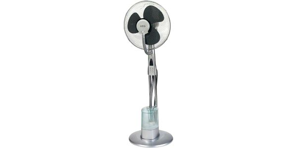 Elektronický stojanový ventilátor