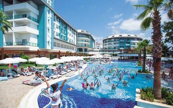 Hotel SEA SHELL RESORT & SPA, Turecká riviéra, Turecko, letecky, all inclusive