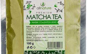 Tradiční japonský Matcha tea 100g!