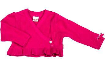 Dívčí bolerko - růžové