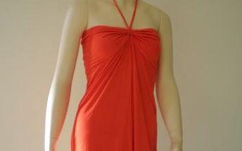 Letní šaty Change Beachwear Tube Dress, oranžové
