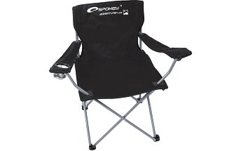 SPOKEY Angler černá cestovní židle