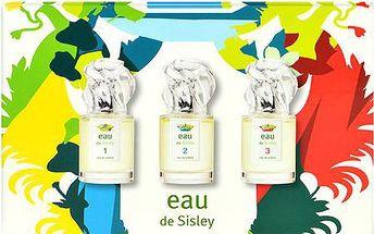 Toaletní voda Sisley Eau de Sisley 30ml Eau de Sisley 1 + 30ml Eau de Sisley 2 + 30ml Eau de Sisley 3