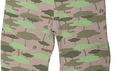 Dětské maskáčové kalhoty - zelené