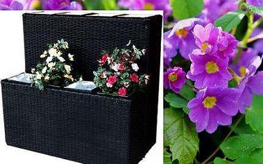 Poly-ratanový květináč pro každou terasu či byt!