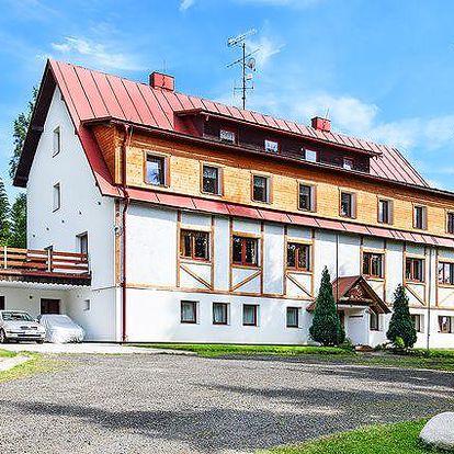 3denní nebo 5denní pobyt v Horském hotelu Eden v Krkonoších až pro 4 osoby