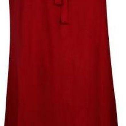 Plážové šaty na ramínka Change Soft Beach Jersey Chemise, červené