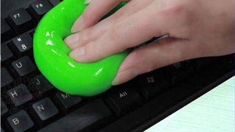 Čistící gel na klávesnici a jiné obtížně přístupné členité předměty - dodání do 2 dnů