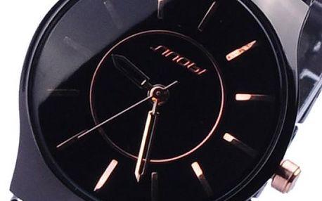 Pánské hodinky SINOBI v černé barvě