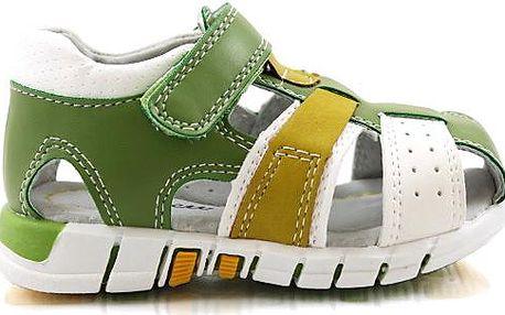Dětské sandálky s plnou špičkou M18WH/GR