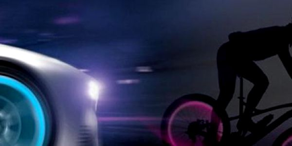 2 silikonová světýlka na kolo: Ideální pro noční přejezdy!