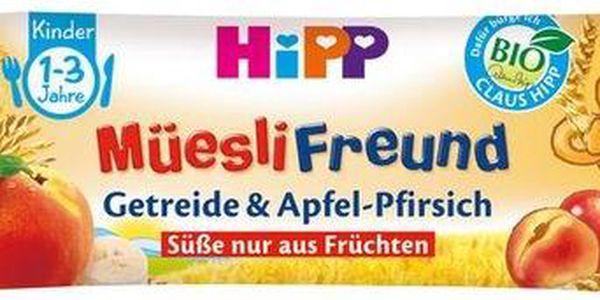 BIO Broskvovo-jablečná müsli tyčinka 20g