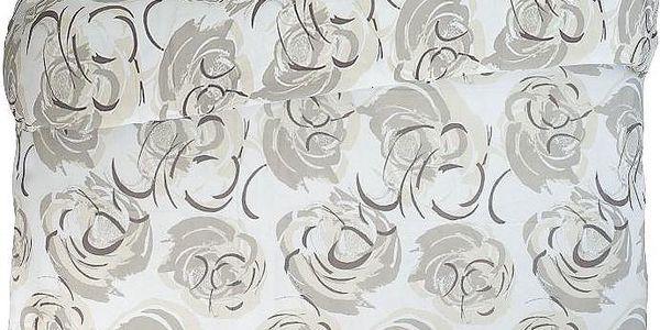 Povlečení Fiore Stilizzato Nocciola, 140x200 cm
