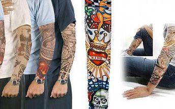 Tetování na ruku bez bolesti - to jsou tetovací rukávy, absolutní módní vychytávka, se kterou ohromíte okolí nejen na večercích ale i v běžném dnu!