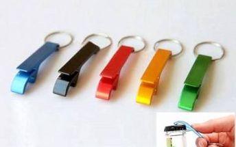 Hliníkový otvírák na pivo - různé barvy