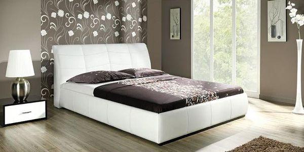 Čalouněná manželská postel Dorothy B - výprodej