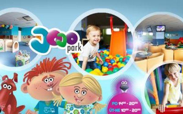 DĚTSKÉ ZÁBAVNÍ CENTRUM JoJo park v Ostravě! Neomezený vstup pro děti do 12 let! AKCE DNES KONČÍ!