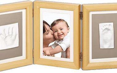 Baby Art Rámeček Double Print Frame Natural