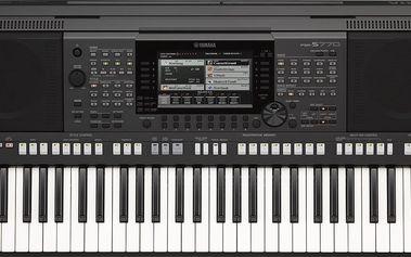 Workstation, aranžér, 61 kláves Yamaha PSR-S770